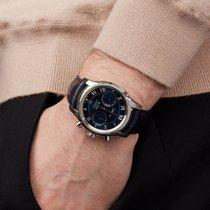Omega De Ville Co-Axial occasion 42mm Bleu Cuir de crocodile