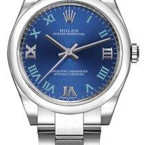 Rolex Oyster Perpetual 31 neu Automatik Uhr mit Original-Box 177200-AZZBLUWGO