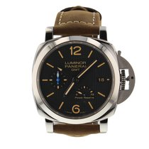 Panerai Luminor 1950 3 Days GMT Power Reserve Automatic new Automatic Watch with original box and original papers PAM01537