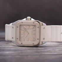 Cartier Santos 100 Steel 33mm Silver No numerals United Kingdom, Oxford