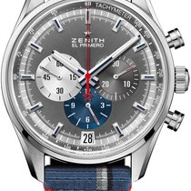 Zenith El Primero Steel 42mm Grey United States of America, New York, Airmont