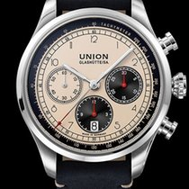 Union Glashütte Belisar Chronograph Steel 44mm Arabic numerals