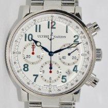 Ulysse Nardin Marine Chronograph 353-88 2002 подержанные