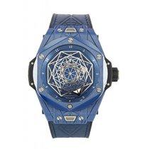 Hublot Big Bang Sang Bleu Cerámica 45mm Transparente