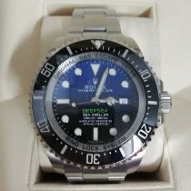 Rolex Sea-Dweller Deepsea Ατσάλι 44mm Μαύρο Xωρίς ψηφία