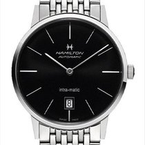 Hamilton H38455131 Steel 2020 Intra-Matic 38mm new
