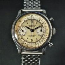Wyler Vetta Acero 38mm Cuerda manual Vetta Ermetico Chronograph usados