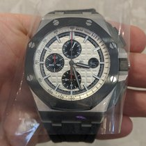 Audemars Piguet 26400SO.OO.A002CA.01 Steel 2017 Royal Oak Offshore Chronograph 44mm pre-owned United States of America, Connecticut, Stamford