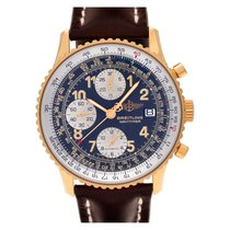Breitling k13022 Yellow gold 2000 Old Navitimer 42mm pre-owned United States of America, Florida, Surfside