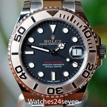 Rolex Yacht-Master 37 pre-owned Gold/Steel
