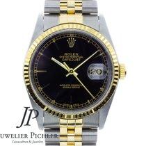 Rolex Datejust Gold/Stahl 36mm Schwarz Deutschland, München