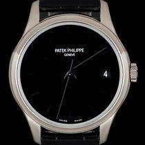 Patek Philippe Calatrava White gold 39mm Black