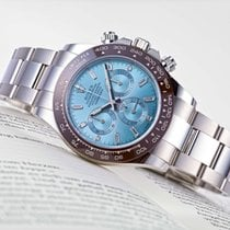 Rolex Daytona Platinum 40mm Blue No numerals United States of America, New Jersey, Princeton
