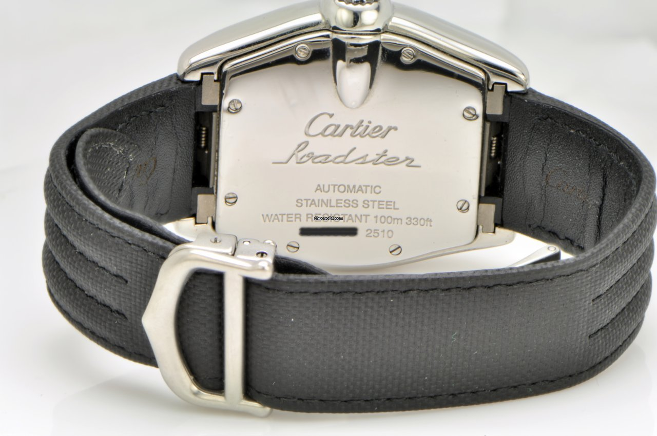 Cartier Roadster Black Dial on Strap with box for  3 4b1679cb0b