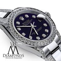 Rolex Lady-Datejust Acier 26mm Violet