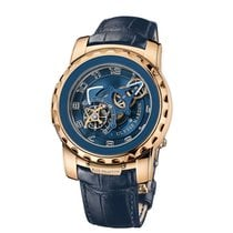 Ulysse Nardin Freak Or rose 45mm Bleu Arabes