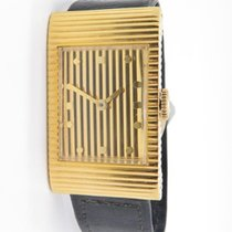 Boucheron Reflet Gents Watch Manual Winding 18k Yellow Gold...
