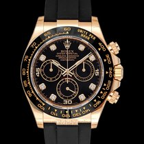 Rolex Daytona Yellow gold 40mm Black United States of America, California, San Mateo