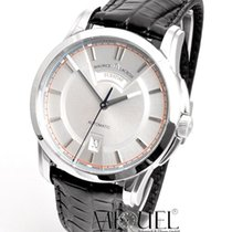 Maurice Lacroix Pontos Day Date Steel 40mm Silver