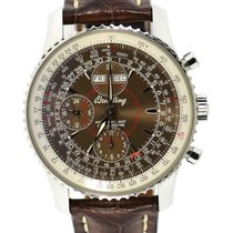 Breitling Montbrillant Datora Steel 43mm Brown United States of America, New York, New York