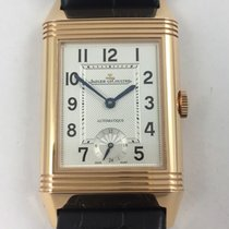 Jaeger-LeCoultre Grande Reverso Night & Day Rose gold 27.4mm Silver