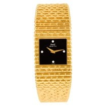 Piaget Emperador Yellow gold 25mm No numerals United States of America, Florida, Surfside