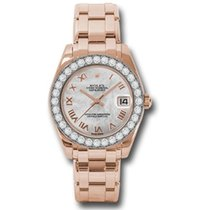Rolex Lady-Datejust Pearlmaster 81285 mrp new