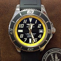 Breitling Superocean 42 Black Yellow - Serviced by Breitling