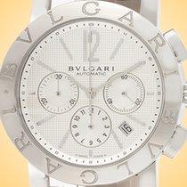 Bulgari Chronograph 42mm Automatic new Bulgari Silver