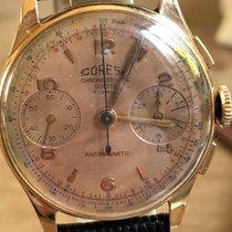 Chronographe Suisse Cie Coresa rose gold 18k