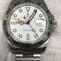 Rolex Explorer II 42mm Stainless Steel Watch Scrambled Serial...