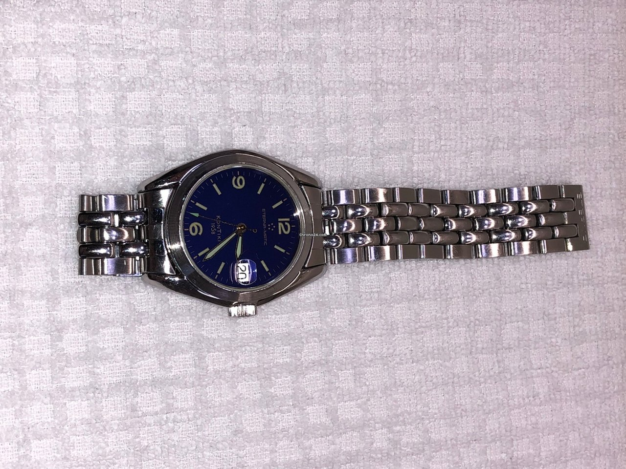 d4473d4de17 Eterna Kontiki 1958 Automatic Date for  749 for sale from a Private Seller  on Chrono24