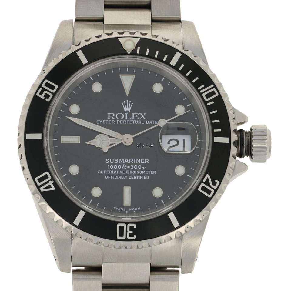 c277ca9c1384 Rolex Submariner Oyster Perpetual Date Men s Watch Stainless... for Rs.  498