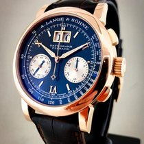 A. Lange & Söhne Datograph pre-owned 41mm Rose gold