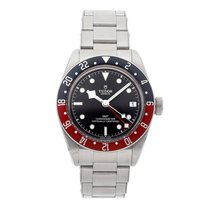 Tudor 79830RB Steel 2010 Black Bay GMT 41mm pre-owned United States of America, Pennsylvania, Bala Cynwyd