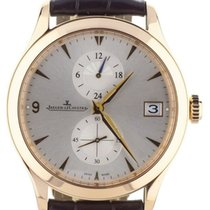 Jaeger-LeCoultre Master Hometime Rose gold 40mm Silver United States of America, Illinois, BUFFALO GROVE