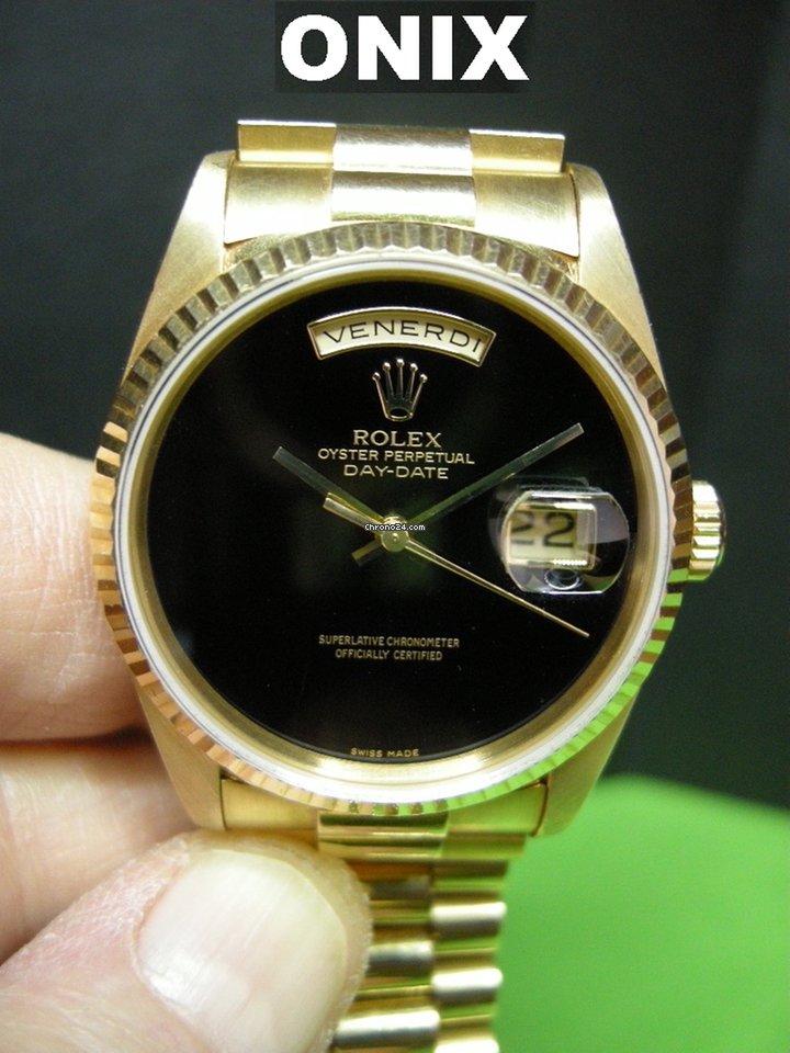 molto carino 83866 2453e Rolex 18238 Rolex Day-Date 36 mm quadrante onice