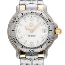 TAG Heuer 6000 Gold/Steel 29mm White