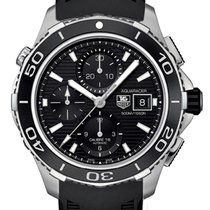 TAG Heuer Aquaracer 500M new Automatic Chronograph Watch with original box CAK2110-FT8019