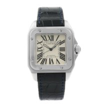 Cartier Santos 100 Steel 41mm Silver United States of America, New York, New York