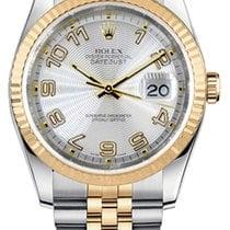 Rolex Datejust 116233 Очень хорошее Золото/Cталь 36mm Автоподзавод