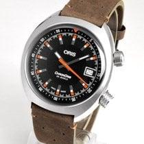 Oris Steel Automatic Black 39mm new Chronoris