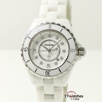 Chanel J12 33mm Quartz pre-owned Watch only