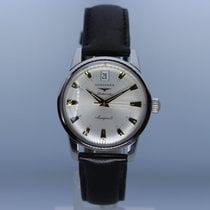 Longines Conquest Heritage Steel 35mm Silver