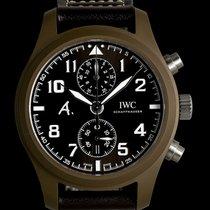 IWC Pilot Chronograph occasion 46mm Brun Chronographe