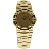 Piaget Tanagra Yellow gold 33mm Champagne Roman numerals United States of America, Florida, 33132
