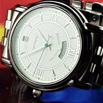 Maurice Lacroix Pontos Day Date Steel 38mm White Roman numerals