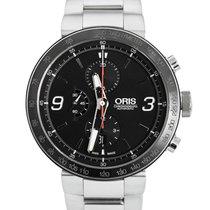 Oris TT1 Acier 45mm Noir