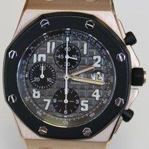 Audemars Piguet Royal Oak Offshore Chronograph occasion 42mm Noir Chronographe Date Caoutchouc