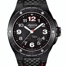 Alpina Racing Acero 47mm Negro